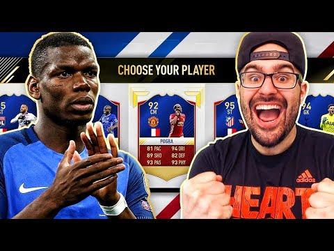 FRANCE ONLY DRAFT! & INSANE DRAFT REWARD - FIFA 17 ultimate team fut draft