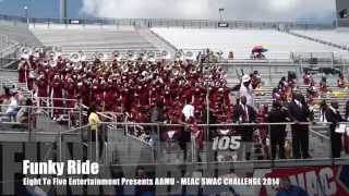 AAMU - Funky Ride  2014 MEAC/SWAC Challenge