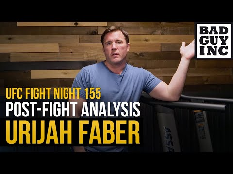 Urijah Faber was supposed to lose...