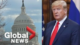 Donald Trump's fast 2nd impeachment trial heads toward vote in SENATE|LIVE  | NewsBurrow thumbnail