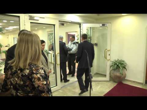 Prime Minister Benjamin Netanyahu in his office