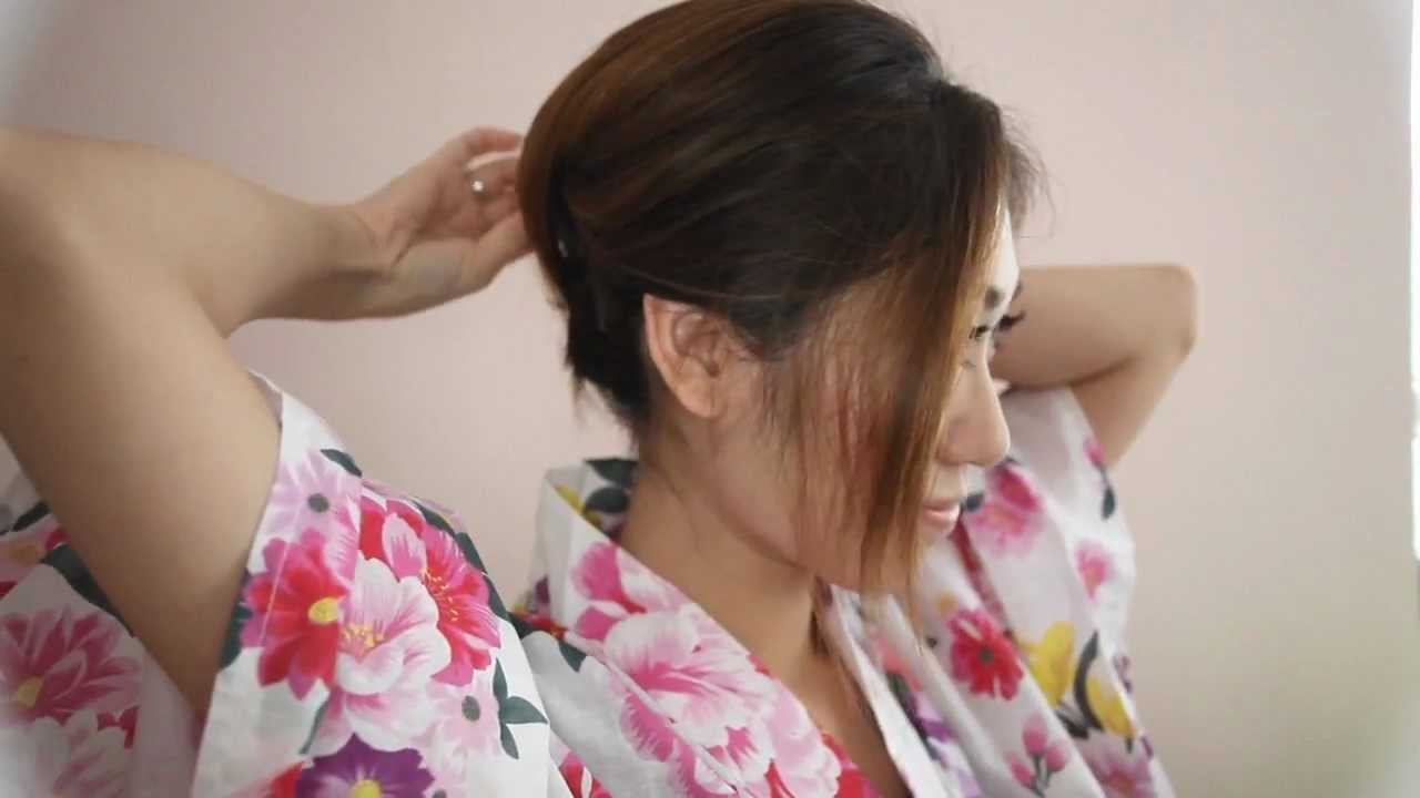 Yukata Makeup Hair Tutorial Kiko Li Youtube