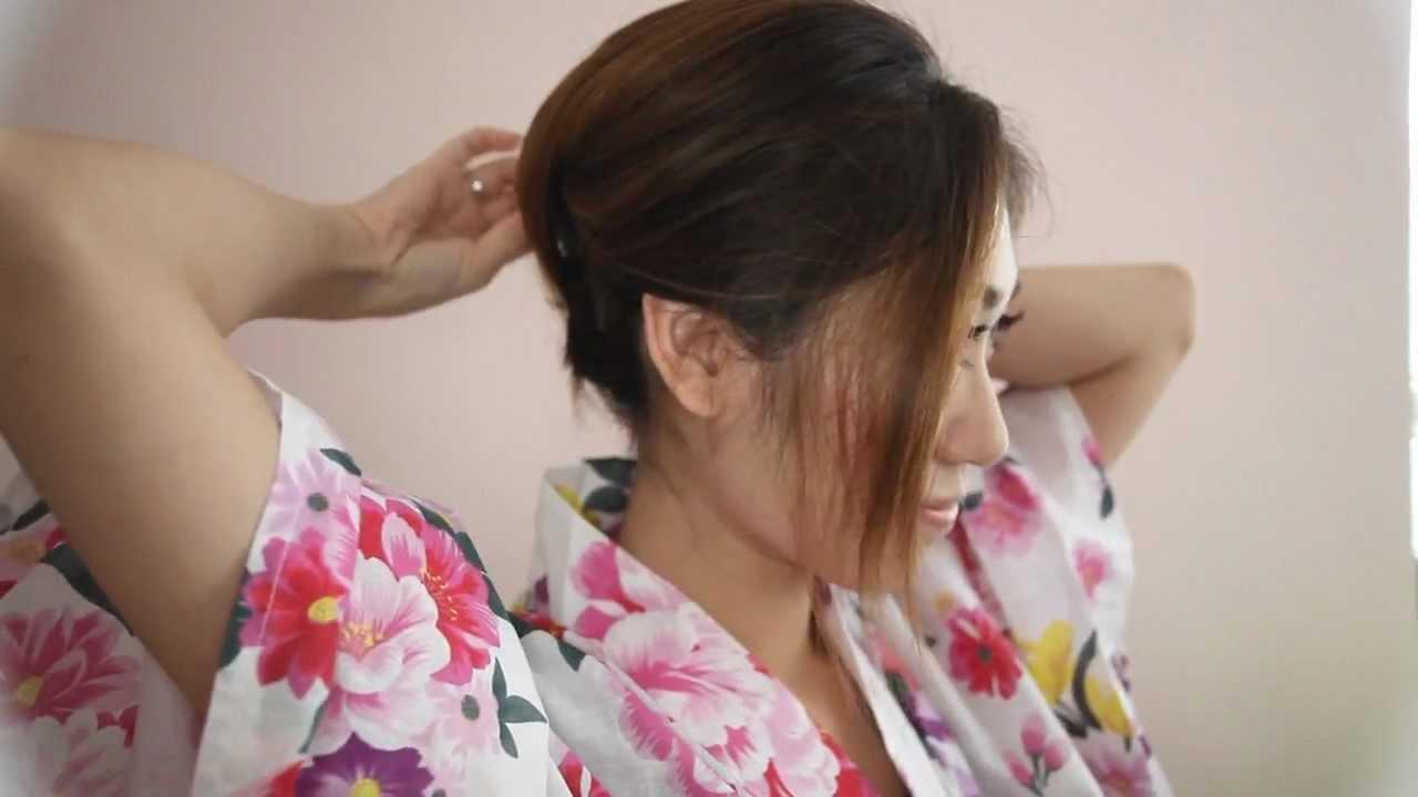 Yukata Makeup & Hair Tutorial KIKO LI