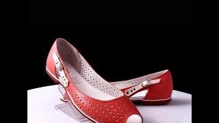видео Женская летняя кожаная обувь: комфортно и стильно