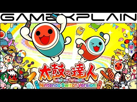Checking out Taiko Drum Master in English on Nintendo Switch (Update)