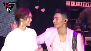 楊丞琳現身演唱會合唱《年輪說》 李榮浩霸氣強吻告白:謝謝我的女朋友.