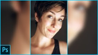 Photoshop Tutorial - Super Fast and Easy Facial Retouching