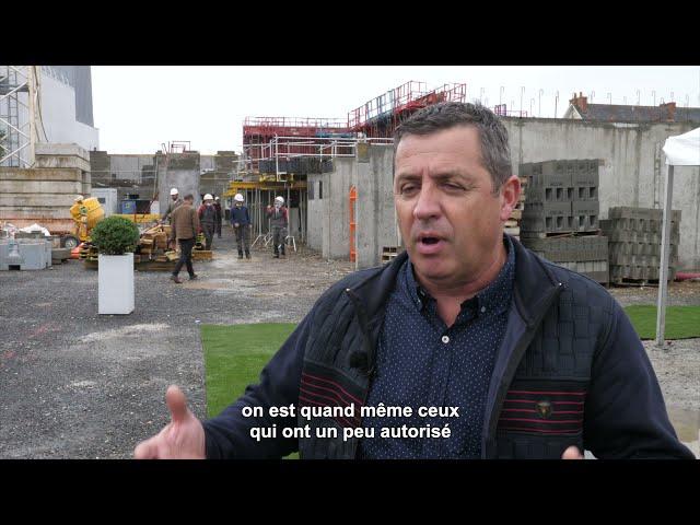 ALILA – 1ère Pierre de L'OREE DE L'ERDRE à Nort-sur-Erdre - Guy DAVID – 1er Adjoint au Maire