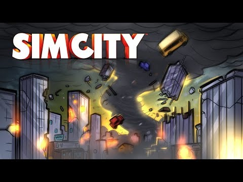 Tornado VS City!! - Sim City Ep.7 - SimCity Lets Play