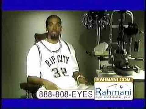 Rip Hamiltion Rahmani Eye Institute Commercial