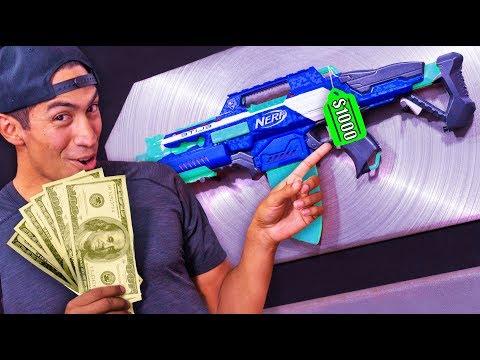 NERF Stash Your Cash Challenge!