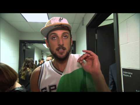 NBA Champion Marco Belinelli Shouts Out Italy