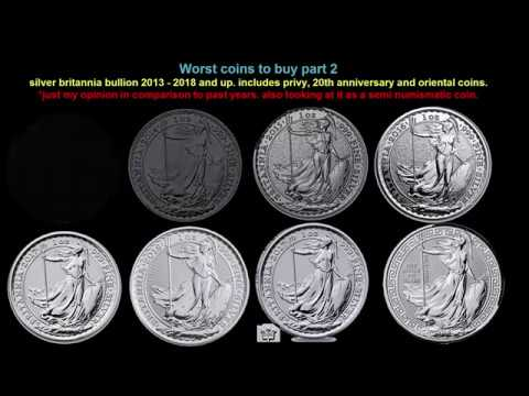 worst coins to buy Britannia silver bullion part 2