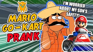 Mario Go-Kart Prank - Ownage Pranks