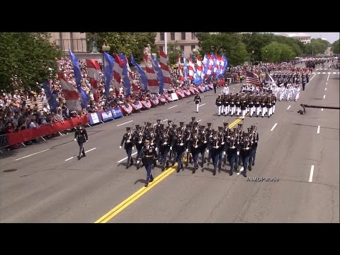 National Memorial Day Parade - 2015