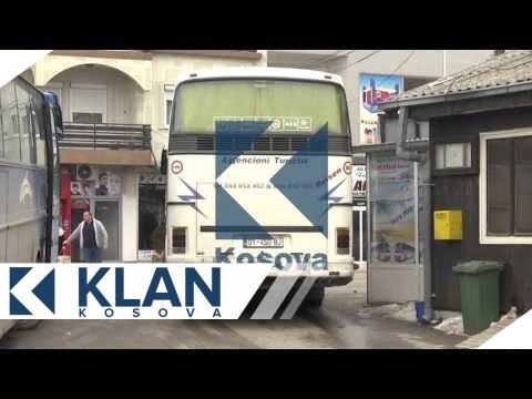 Momenti i nisjes se protestuesve nga Podujeva - 09.01.2016 - Klan Kosova