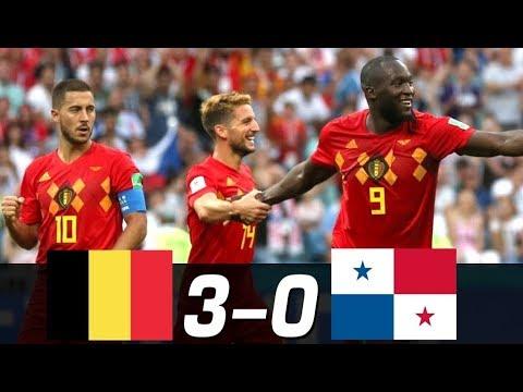 Belgium Vs Panama  ( 3 - 0 )  FIFA WOrld Cup 18/05/2018