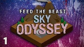 FTB Sky Odyssey Ep. 1 Best Skyblock Modpack?
