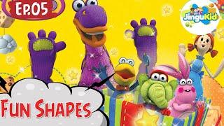 DIBO Sing Along   Fun Shapes   Learning Songs   Preschool Cartoon Songs   Learning For Kids