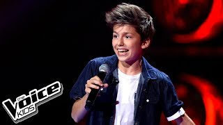 "Antek Scardina - ""CAN'T STOP THE FEELING!"" - Przesłuchania w ciemno - The Voice Kids Poland"