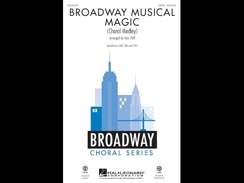 Broadway Musical Magic, Section 1 (SATB) - Arranged by Mac Huff