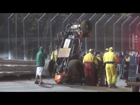 Williams Grove Speedway World of Outlaw Sprint Car Highlights 10-04-15