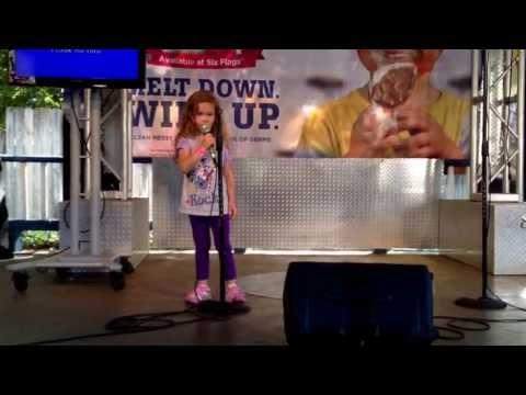 Chloe karaoke call me maybe April 28, 2013