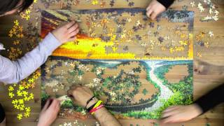 Ravensburger Puzzle 1000 Pieces | Saarschleife by Band of Puzzle