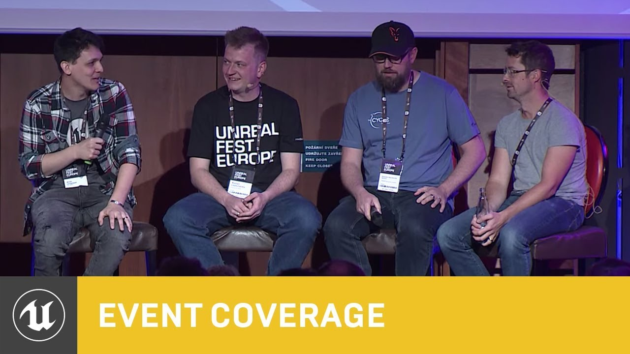 Panel - Being an Artist on a UE4 Team   Unreal Fest Europe 2019   Unreal  Engine