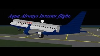 Roblox: Aqua Airways Investor flight