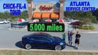 Tesla Model 3 Road Trip | 5,000 miles at Bojangles!