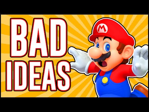 10 TERRIBLE Level Ideas For Mario Maker 2!