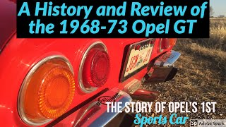 Opel GT: History & Review