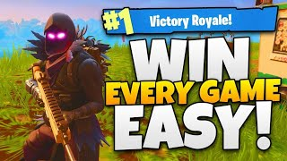 HOW TO WIN EVERY GAME + UNLIMITED XP FORTNITE