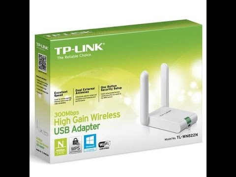 Solución Windows 10 adaptador usb wifi TP-LINK TL-WN822N - YouTube