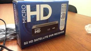 microHD FTA DVB-S2 Satellite Receiver STB (Whats in the box)