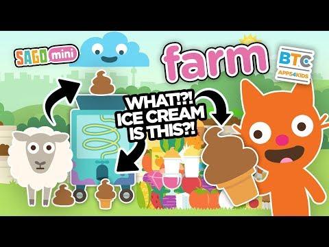 Sago Mini Farm CRAZY ICE CREAM!?!!!