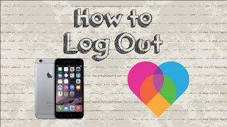 How to log out Lovoo account