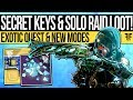 Destiny 2 | CORRUPTED WEAPON & SOLO RAID LOOT! Loot Keys, Exotic Quest Mystery, Wish Wall & Patch