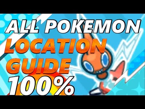 Pokémon Sun and Moon: COMPLETE POKEDEX LOCATION GUIDE| HOW TO CATCH AND EVOLVE THEM ALL!!