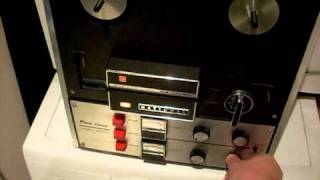 National (Panasonic) Stereo Tape Recorder RS-755SE (Reel to Reel)(RtR)(R2R)