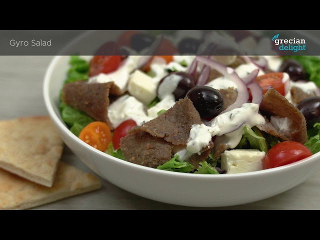 Menu Inspiration: Grecian Delight Salad Toppings and Mediterranean Ingredients