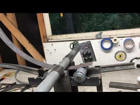 Ring roller from scrap steel