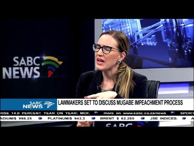 Lawmakers set to discuss Mugabe impeachment process