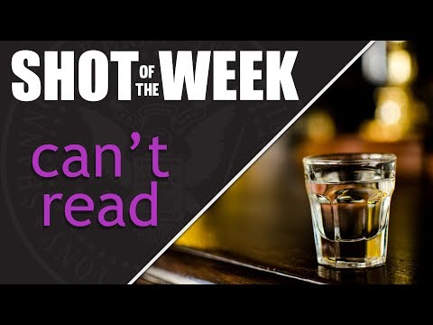 Geekshow Podcast | Tony Can't Read | Shot Of The Week