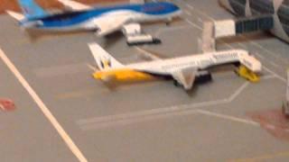 MODEL AIRPORT- UK SCHEDULE UPDATE- AEROCLASSICS IBERIA A330- BLUE ALLIANCE