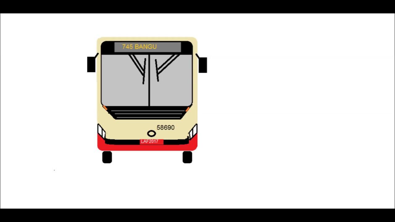 Desenhos De Onibus No Paint Caio Apache Vip Iv Youtube
