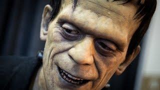 Realistic Frankenstein Monster Sculpture