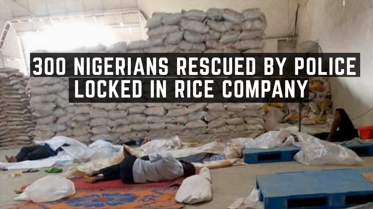 300 Nigerians Rescued By Police After Being Locked In By Indian Rice Factory