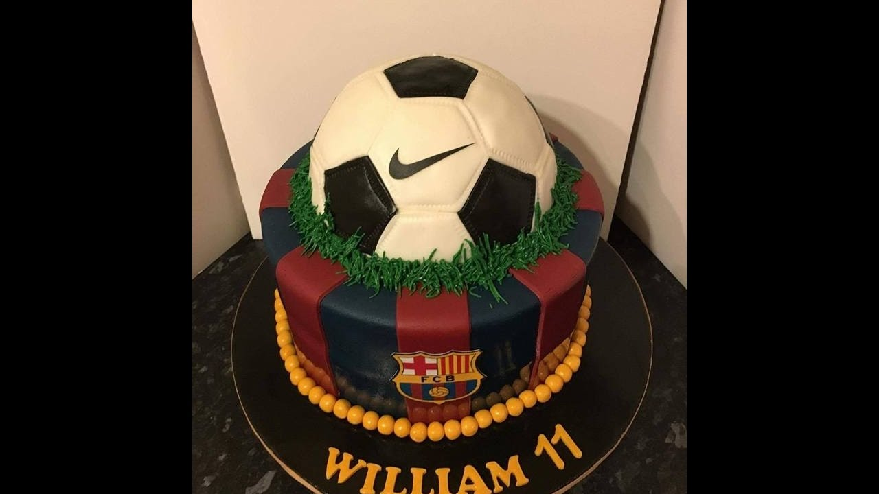 Fc Barcelona Cake Youtube